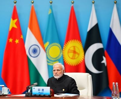 Qingdao: Prime Minister Narendra Modi attends the Restricted Session of the Shanghai Cooperation Organisation (SCO) Summit in Qingdao, China on June 10, 2018. (Photo: IANS/PIB)