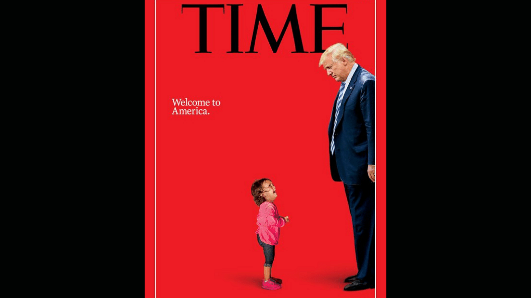 TIME's Trump 'Welcome to America' Cover Sums Up US Border Crisis