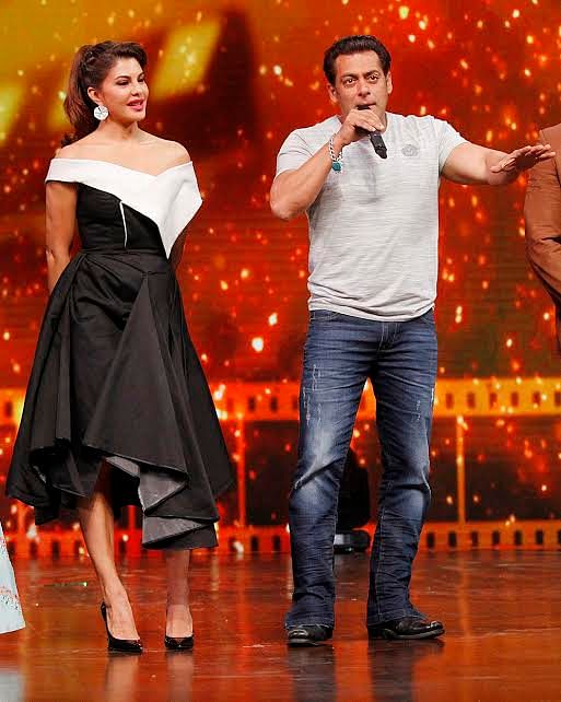 The star cast of Race 3 was seen promoting there film on Dance India Dance.