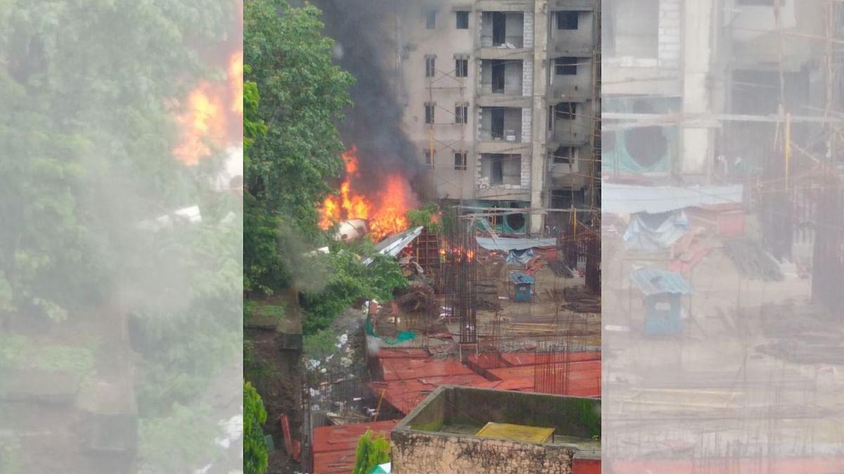Ghatkopar Plane Crash: CCTV Captures Aircraft's Final Moments