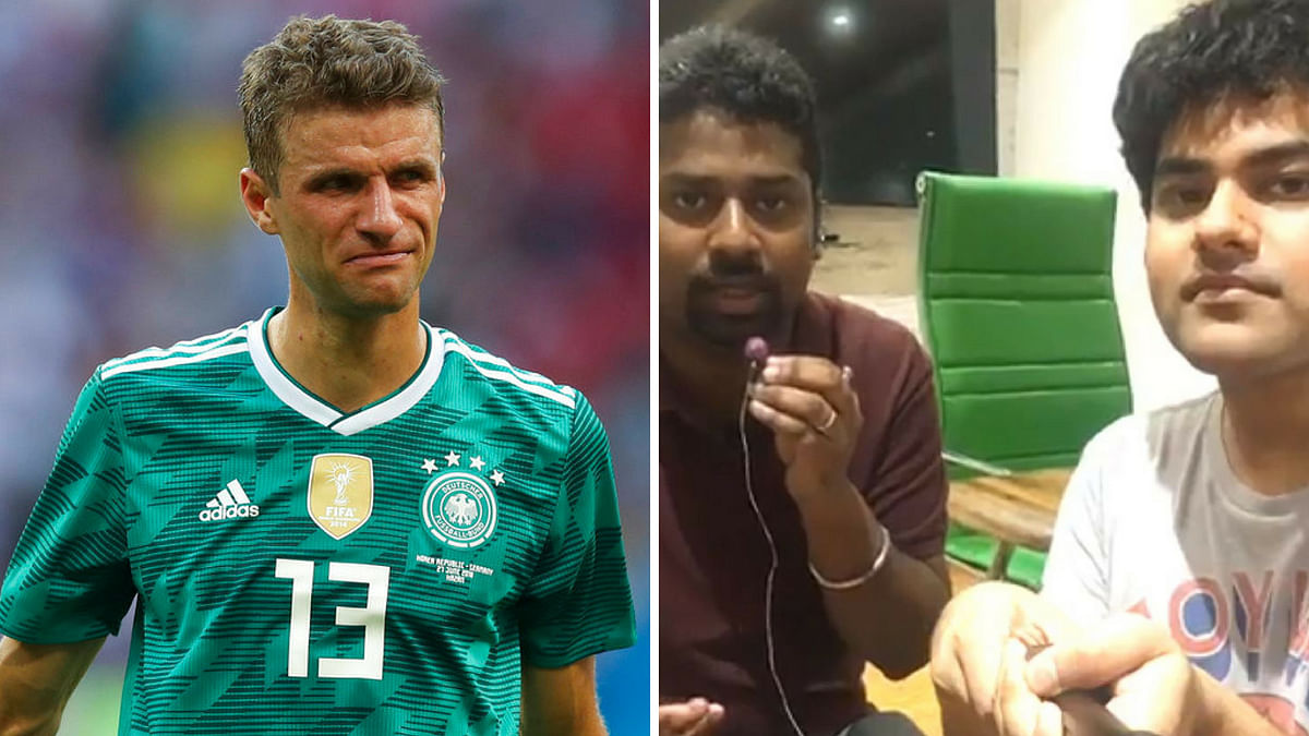 Thomas Mueller is dejected after Germany lost to South Korea in their last group match (L) and <b>The Quint </b>decodes about Germany's exit.