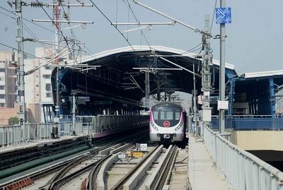 Delhi Metro. (File Photo: IANS)