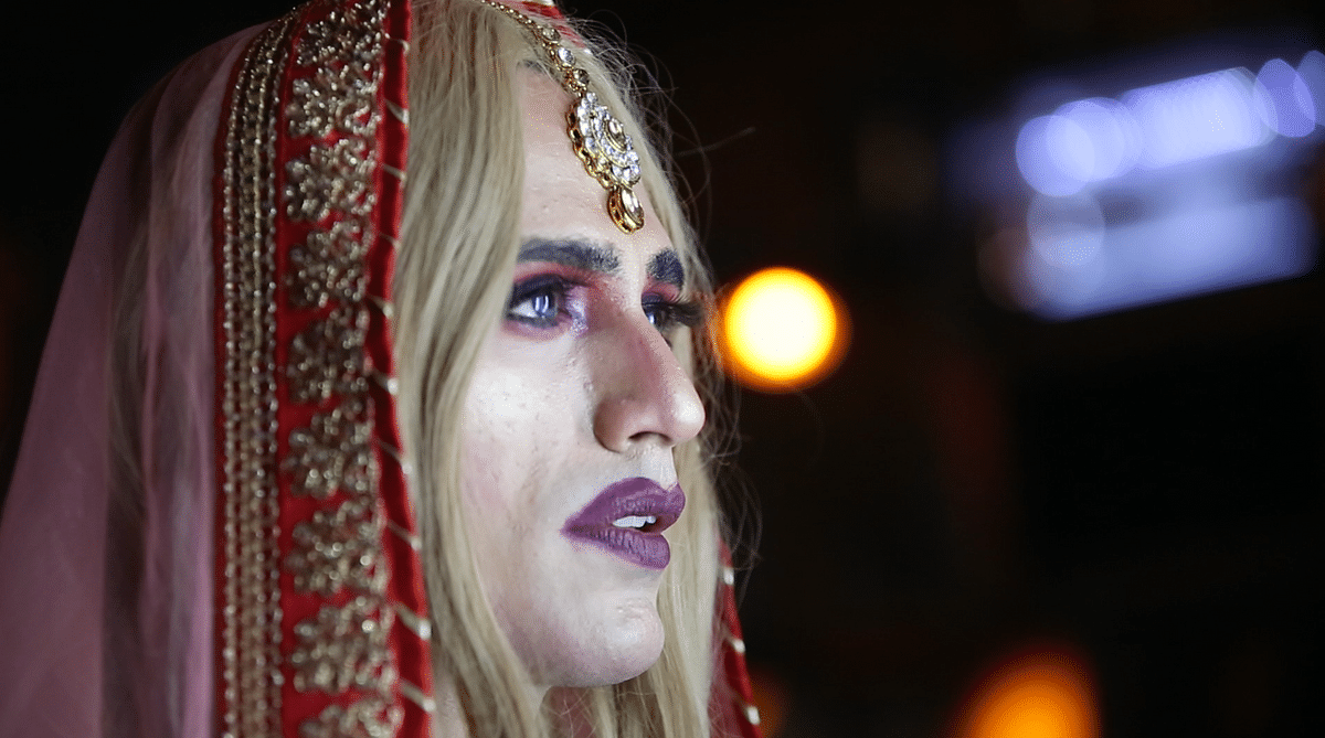 Nitish Anand is the youngest Indian drag queen.