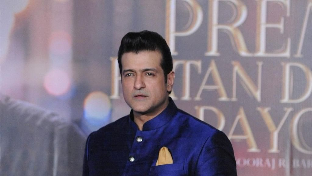 Armaan Kohli during the promotions of <i>Prem Ratan Dhan Payo.</i>