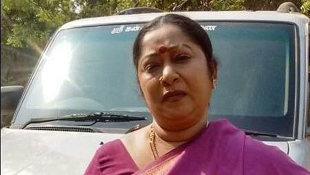 Tamil TV actress Sangeetha Balan.