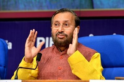 File photo of Prakash Javedkar.
