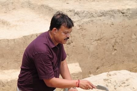Sanjay Kumar Manjul, an archaeologist and Director of the Institute of Archaeology of the Archaeological Society of India (ASI).