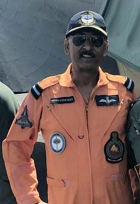Jamnagar: Air Commodore Sanjai Chauhan, who sustained fatal injuries when an Indian Air Force (IAF) Jaguar crashed in Jamnagar, Gujarat on June 5, 2018. (Photo: IANS)