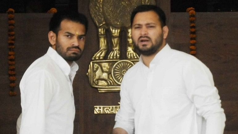 'It's All False': Tejashwi Yadav & Tej Pratap Deny Rumours of Rift