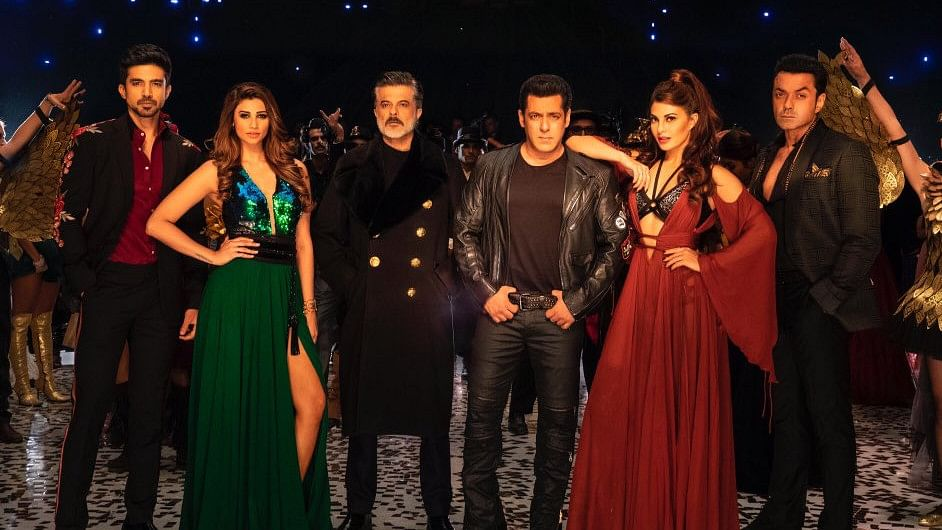 The cast of <i>Race 3</i>.