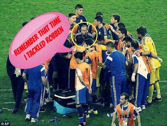 The Mascherano team talk