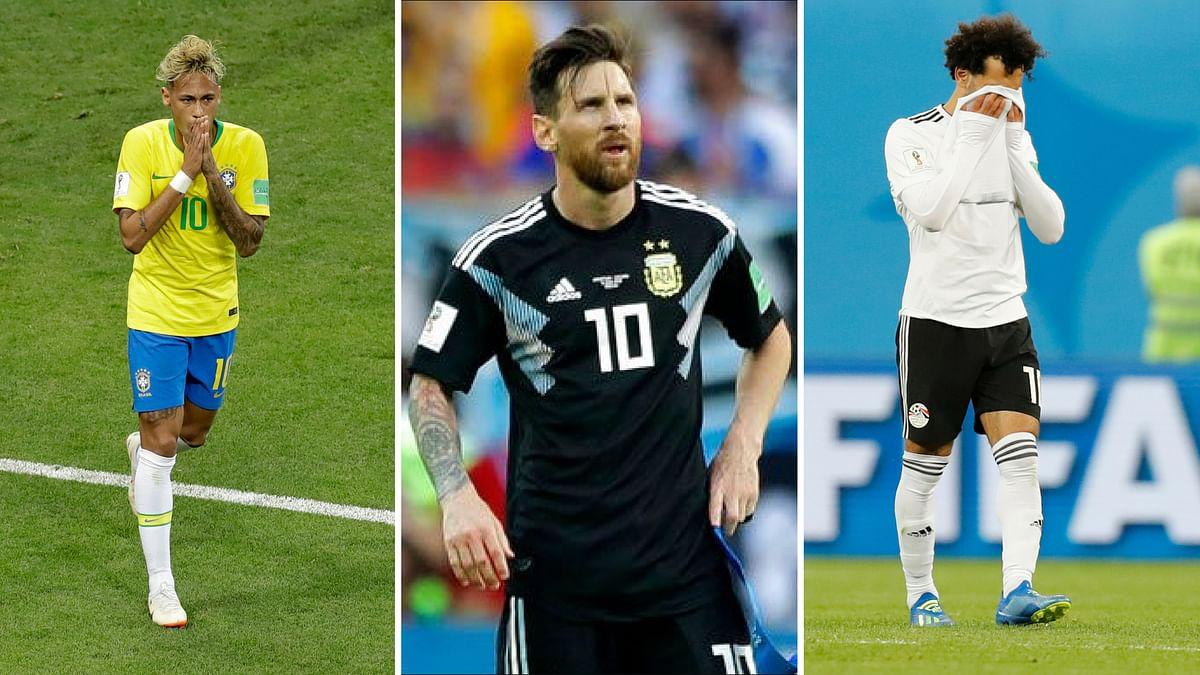 FIFA World Cup: Salah, Neymar, Messi – All Stars Stifled
