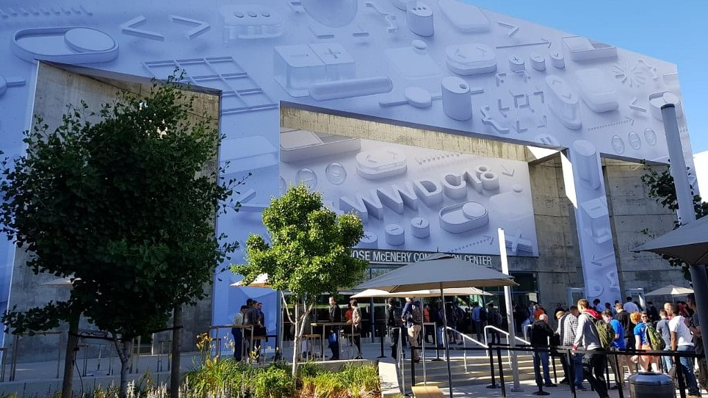 The Apple Worldwide Developer's Conference is being staged at the San Jose Convention Center, California