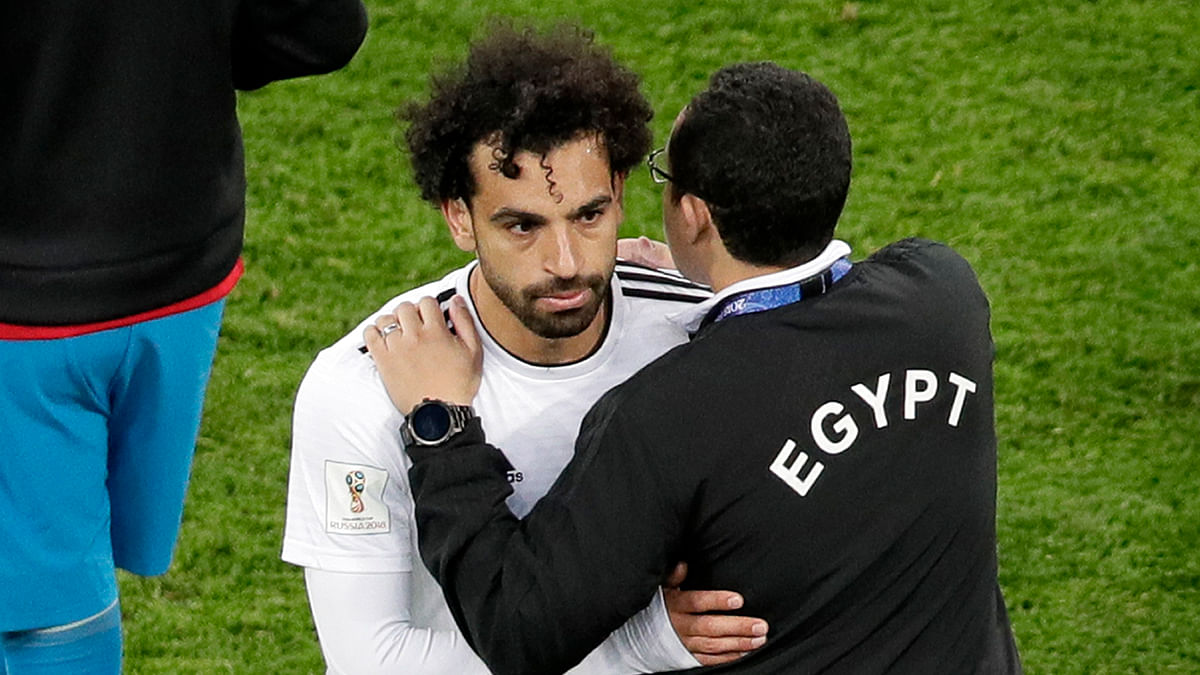 Try As He Might, Salah Couldn't Do Enough to Give Egypt Win