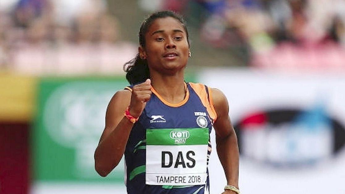 Hima Das Creates History! Bags Gold at IAAF U20 World Championship