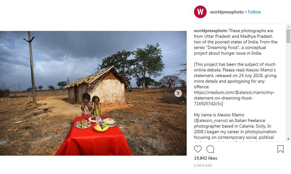 Instagram post originally shared on <i>World Press Photo</i>'s Instagram.