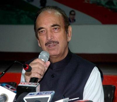 Congress leader Ghulam Nabi Azad. (File Photo: IANS)