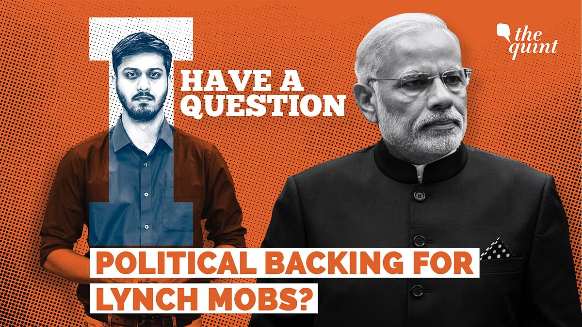 PM Modi, Your Government Gives Political Backing to Lynch Mobs