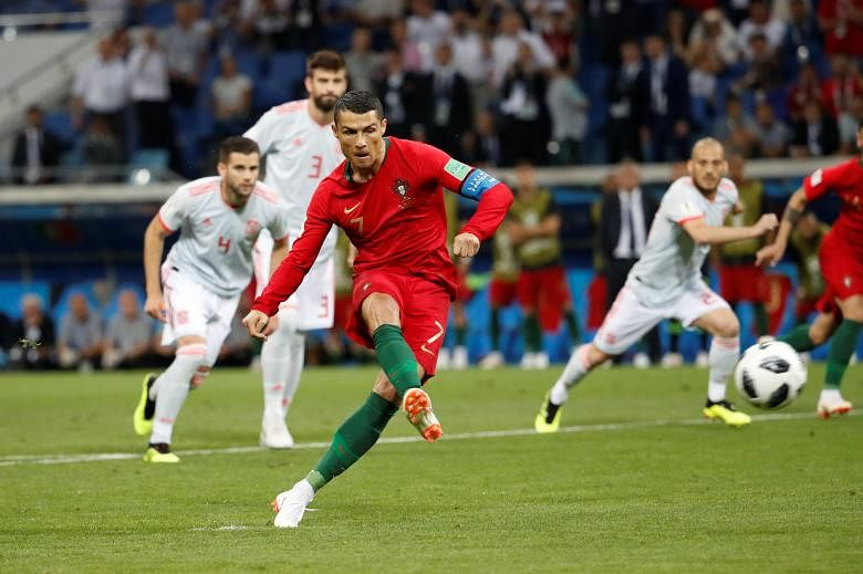 Ronaldo has a great start to the 2018 FIFA World Cup but was ineffective in his team's final two games, leading to their exit.