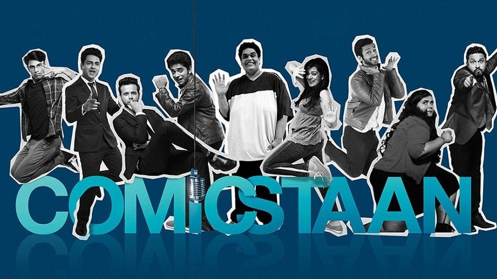 A poster of <i>Comicstaan</i>.