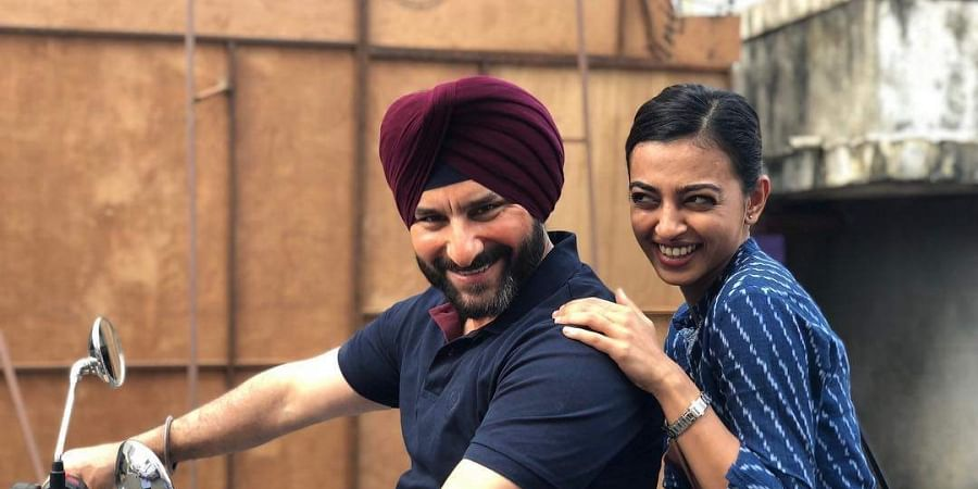 Radhika Apte and Saif Ali Khan star in Netflix show, <i>Sacred Games</i>.