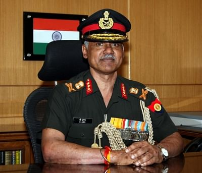 Indian Army Vice Chief Lt. General Devraj Anbu. (Photo: IANS/PIB)