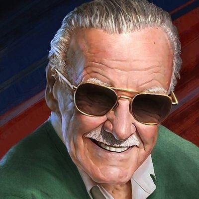 Marvel Comics icon Stan Lee.