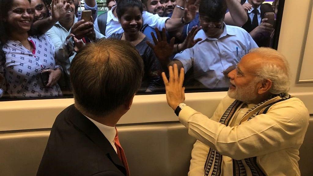PM Modi, South Korean Prez Moon Inaugurate Mobile Factory in Noida