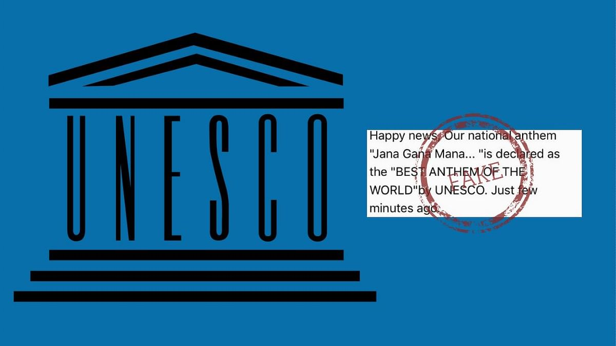 The message, which has been in circulation since 2008, has been debunked as fake by the UNESCO.
