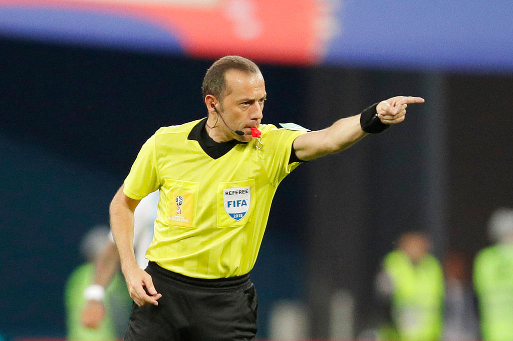 Cuneyt Cakir of Turkey was one of the earliest proponents and testers of VAR technology being used at the World Cup