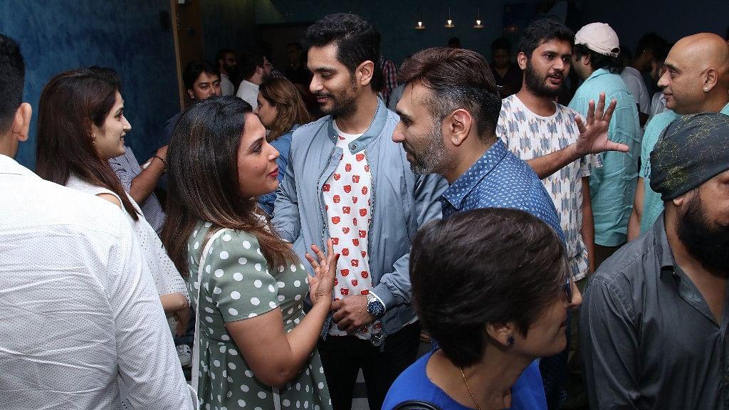 Richa, Sachin  Arrive for 'Soorma' Special Screening