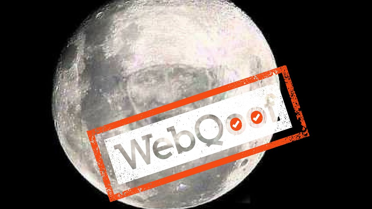 Fake News! Sai Baba's Face on the Moon Is  A Morphed Image