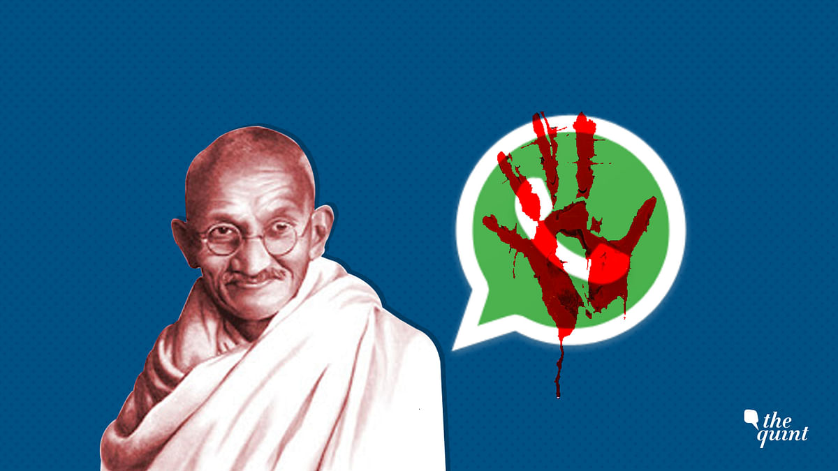 Social Media Censorship Won't Stop Lynchings. We Need a New Gandhi