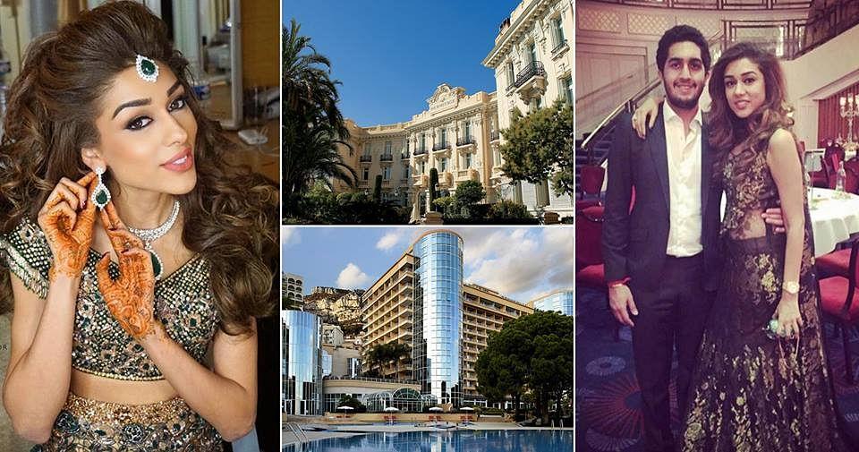Hong Kong's Mahir Vachani married London based Priyanka Virani in  Monte Carlo, Monaco in the month of March.
