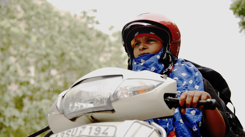 Komal Gupta is a 22-year-old delivery executive for EvenCargo.