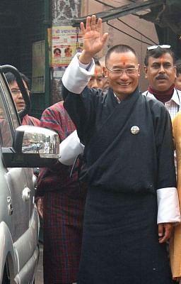 Bhutan Prime Minister Tshering Tobgay. (Photo: IANS)