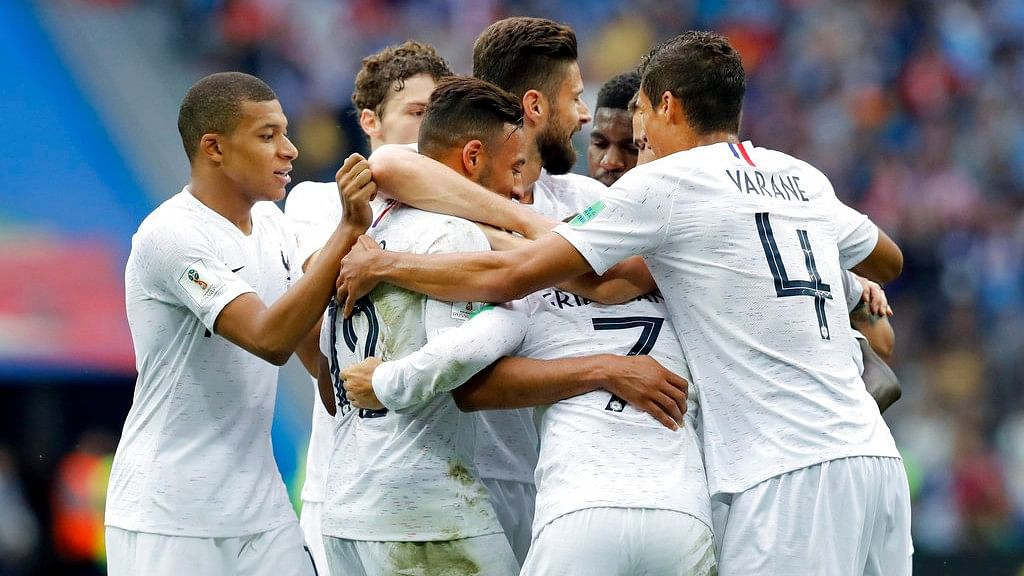 FIFA WC: Varane, Griezmann on Target As France Push Uruguay Out