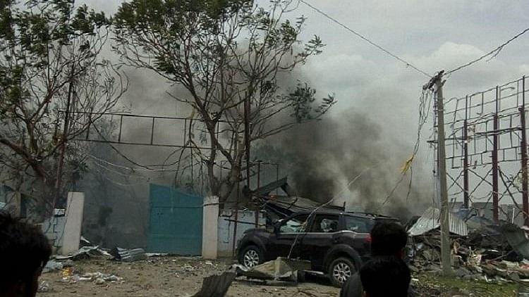 10 Killed in Massive Fire at Warangal Cracker Warehouse