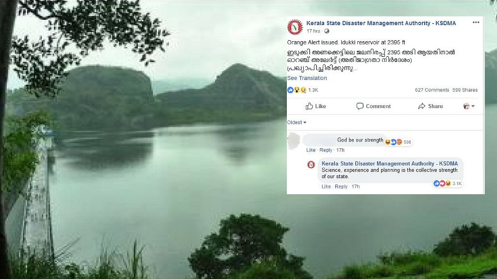 Science Wins in Epic Reply by Kerala Authority on Idukki Dam Alert