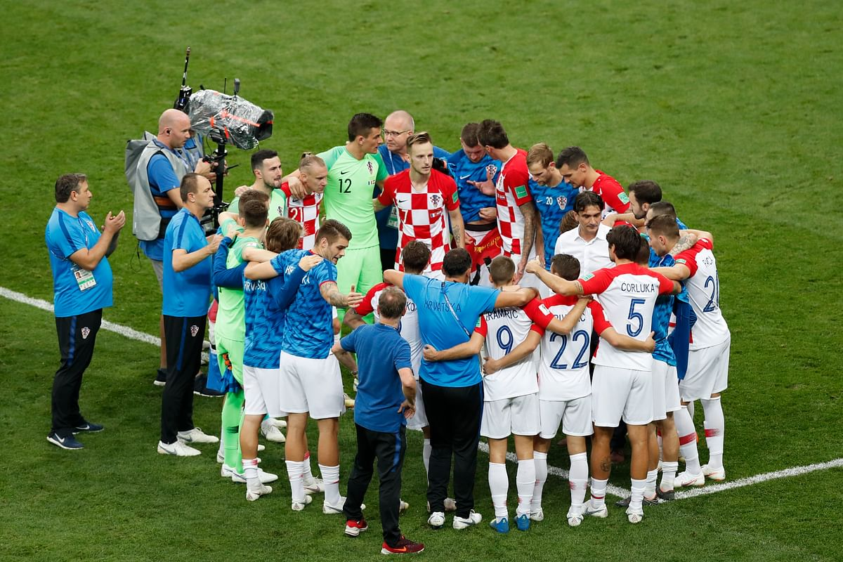 """""""Hold Your Heads High"""": Croatia Coach Tells Team After World Cup"""