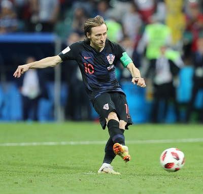 Luka Modric. (Xinhua/Yang Lei/IANS)