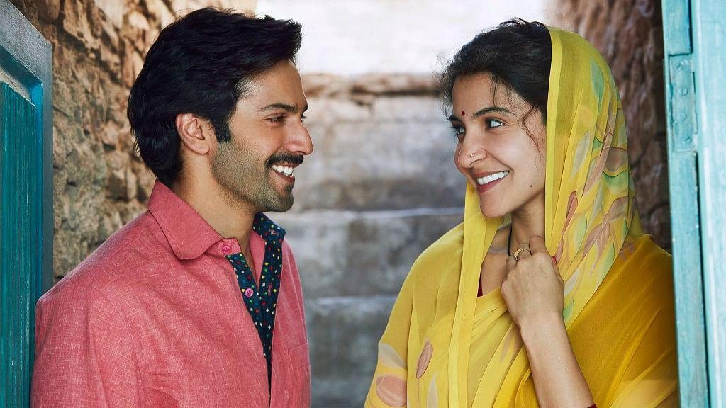 Anushka Sharma and Varun Dhawan in <i>Sui Dhaaga</i>.&nbsp;
