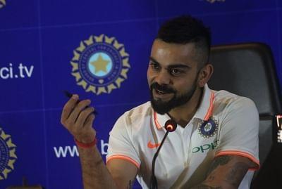 Indian captain Virat Kohli.
