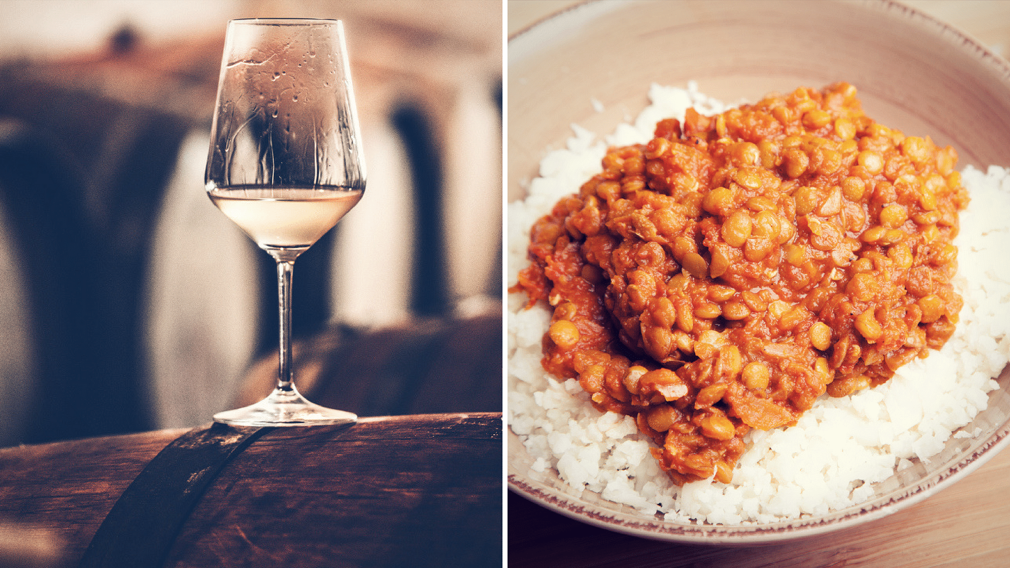 We Indians were never taught to pair wines with our fiery red chicken curries or even dal chawal!