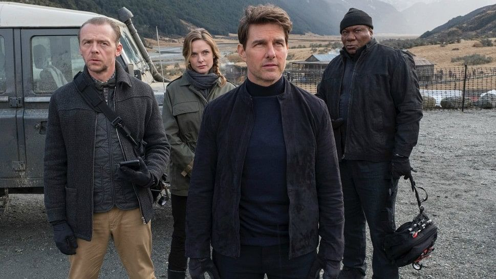 Tom Cruise battles evil forces and saves the world one more time in <i>Mission: Impossible - Fallout.</i>