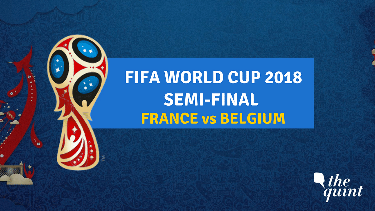 Semi-final 1 of FIFA World Cup 2018 will be played between France and Belgium.