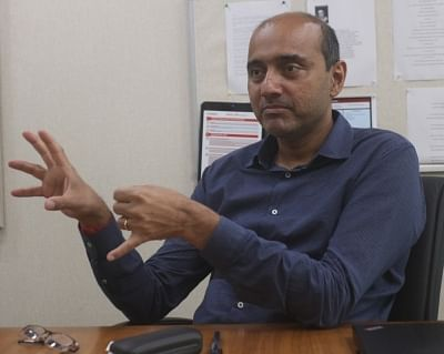 Bharti Airtel MD and CEO (India and South Asia) Gopal Vittal during an interview with IANS.