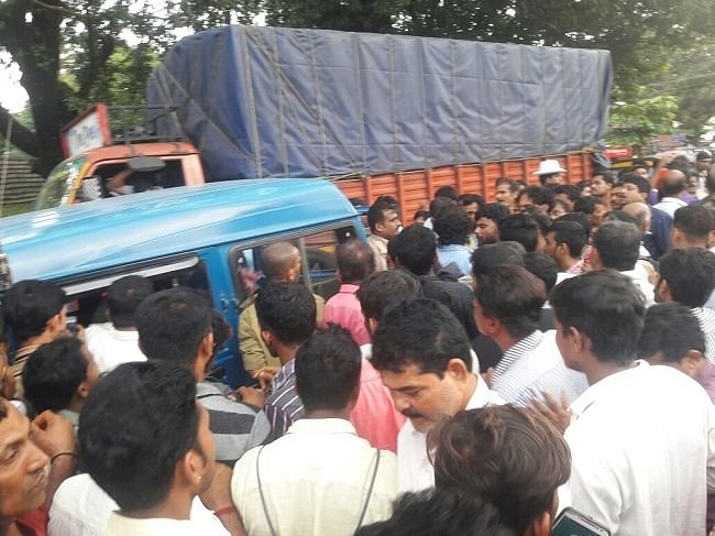 Mangaluru: Father Out with Kid Thrashed over Child-Lifting Rumours