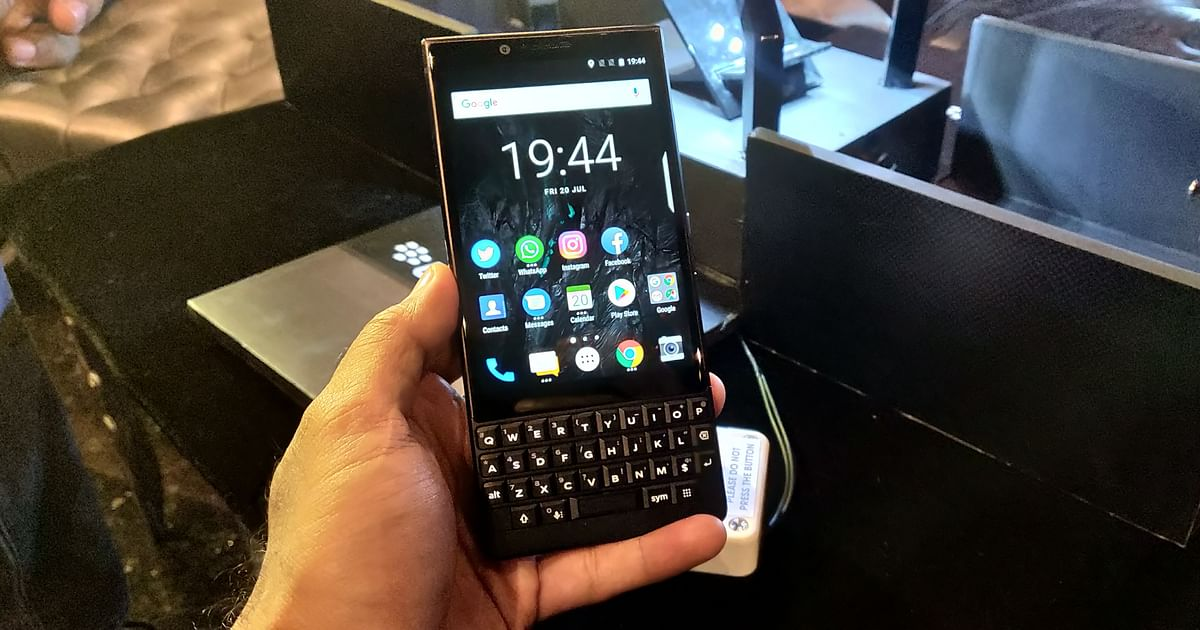 Will BlackBerry's 2021 QWERTY Comeback Spare Its Blushes?