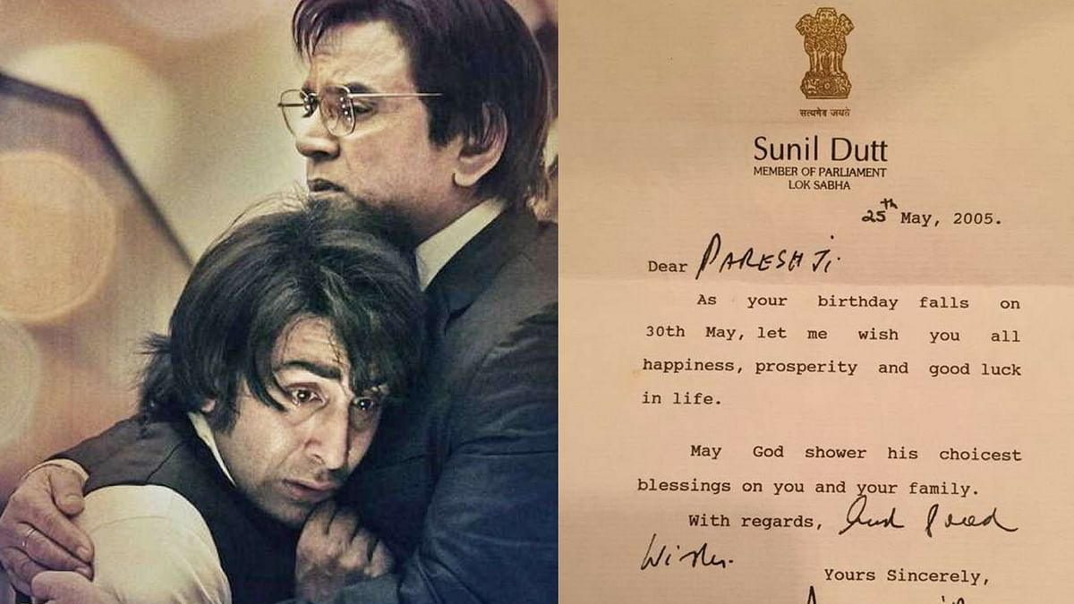 A Letter From Sunil Dutt That Led Paresh Rawal to 'Sanju'